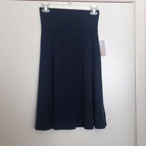 S LuLaRoe Azure Skirt
